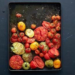 Tomates au four épicées au tabil