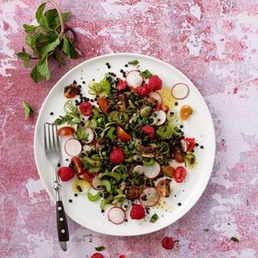 Fruchtiger Linsensalat
