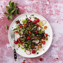 Salade de lentilles fruitée