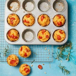 Muffins à la tomate
