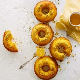 Gâteaux d'amour persans imbibés