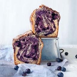 Heidelbeer-Marmorcake