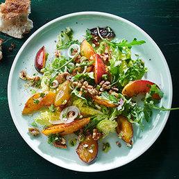 Zwetschgen-Nektarinen-Salat