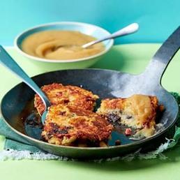 Rösti-Tätschli  mit Käse, Speck & Dörrpflaumen