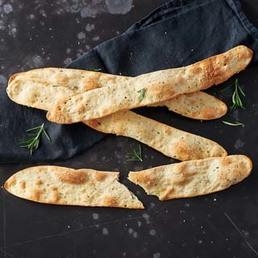Crackers au romarin et au sel de mer