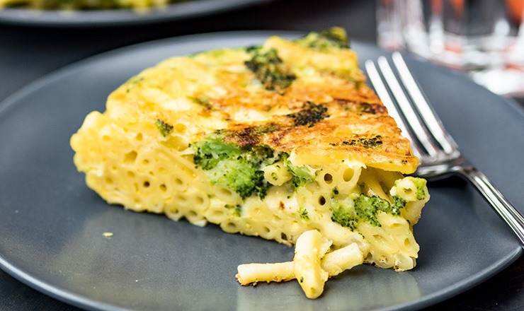 Magronen-Broccoli-Rösti