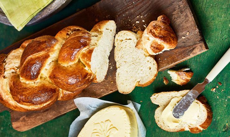 UrDinkelzopf mit Brühstück