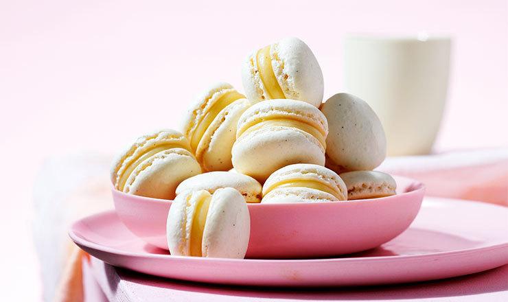 Süssholz-Macarons