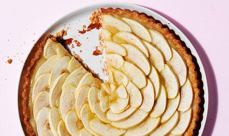 Apfel-Tonka-Tarte