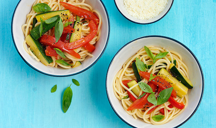 Ratatouille-Spaghetti