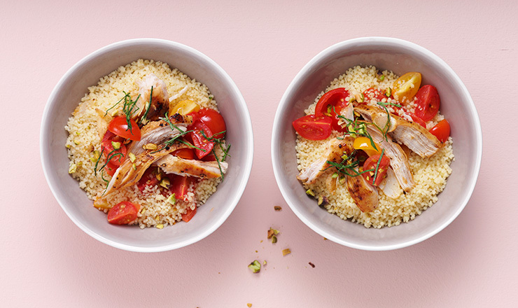 Pulled-Chicken-Couscous
