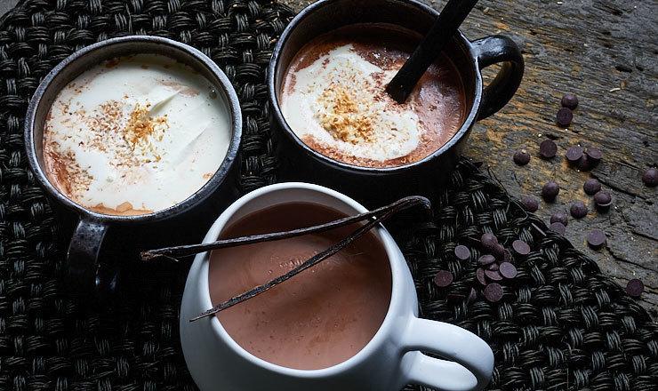 Heisser Kokos-Kakao