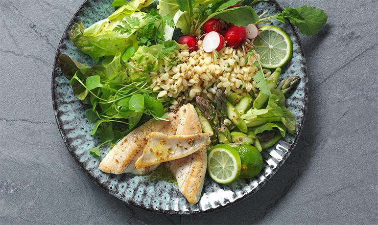 Eglifilet-Salat