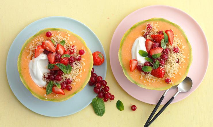 Melonen-Bowl