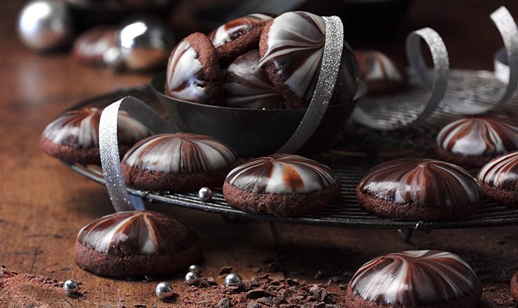 Schokolade-Küsse