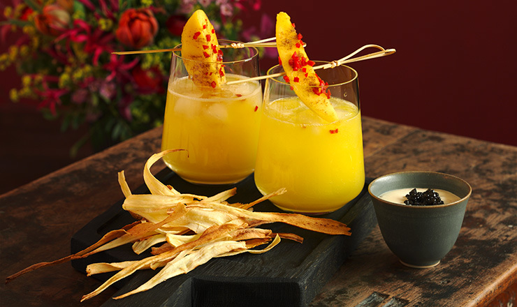 Spicy Mango-Margarita