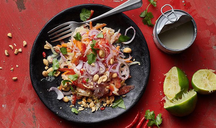 Rüebli-Papaya-Salat