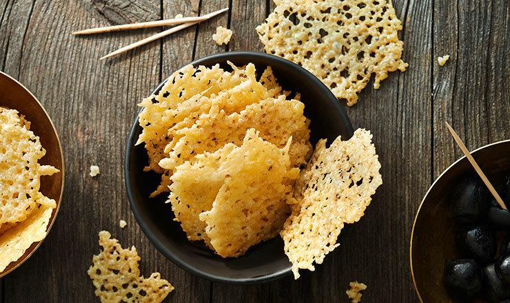 Käse-Chips