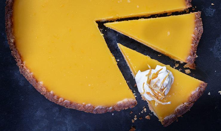 Orangen-Tarte