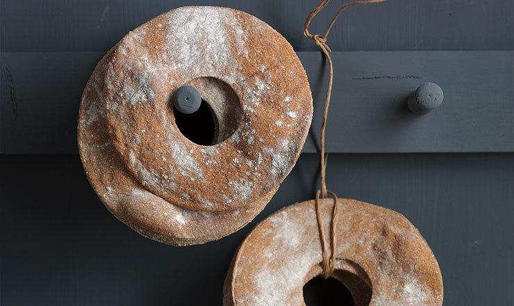 Anneaux de pain croquant