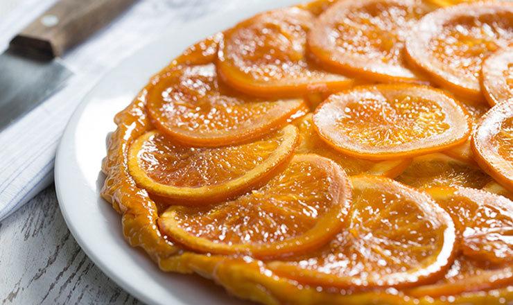 Orangen Tarte Tatin