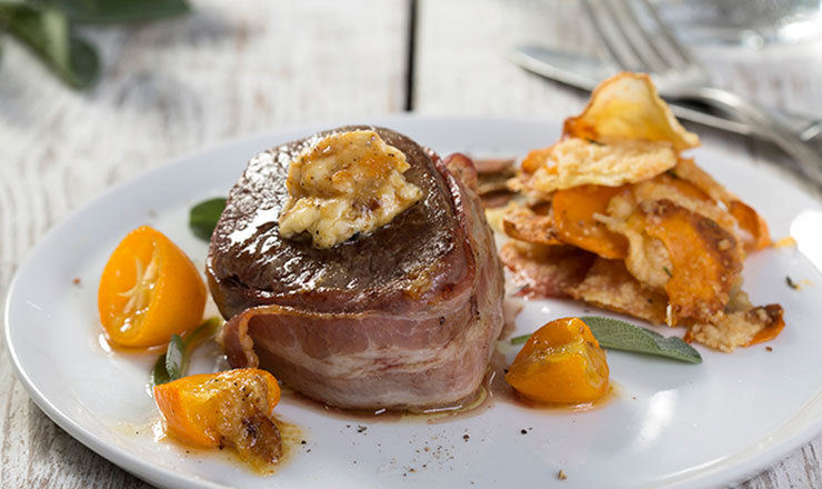 Tournedos mit Knoblauch Butter