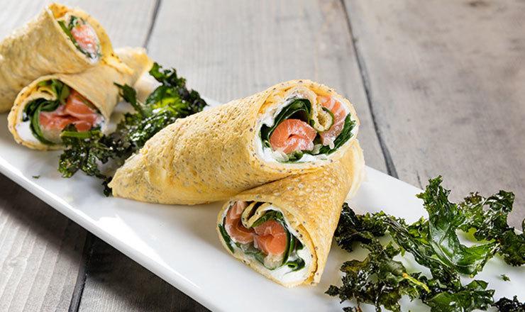Wrap mit Sushi