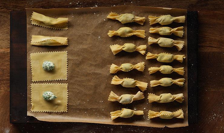 Caramelle di pasta (Grundrezept)