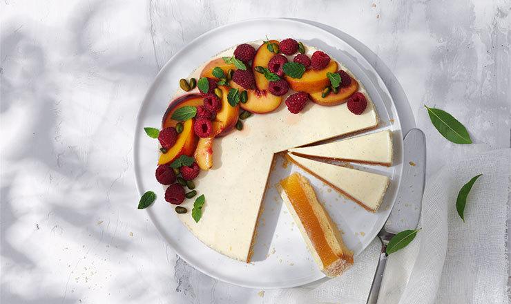 Pfirsich-Rahm-Torte