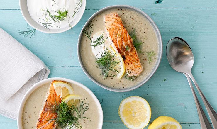 Soupe de poisson  nordique