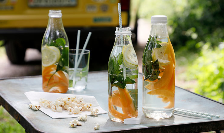 Infused  Water  mit Melone