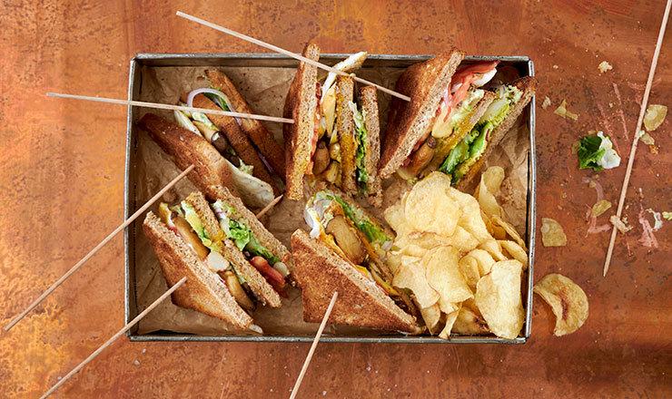Vegi-Club-Sandwiches