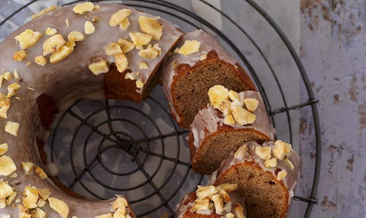 Bananen-Gewürz-Ringkuchen