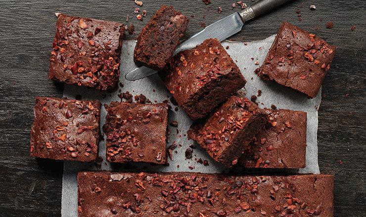 Schokolade-Whiskey-Brownies