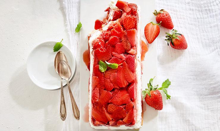 Erdbeer-Trifle