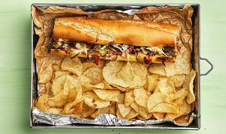 Philly-Cheese-Vegi-Sandwich