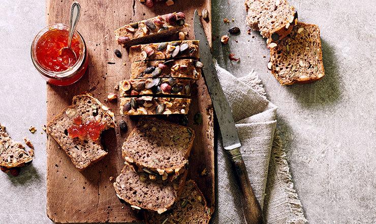 Nuss-Kernen-Brot